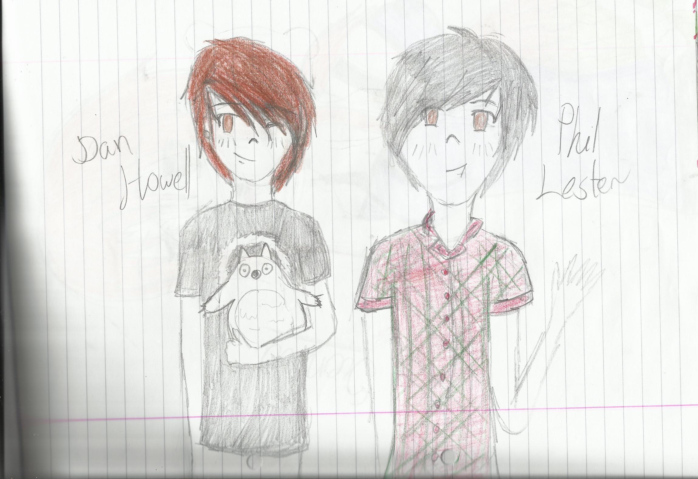 dan and phil characters