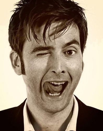 David Tennant wallpaper containing a business suit, a suit, and a portrait titled David