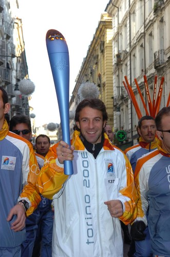 Alessandro Del Piero wallpaper called Del Piero Olympic Games Torino 2006