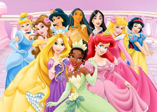 Disney Princess wallpaper possibly with anime entitled Disney Princess