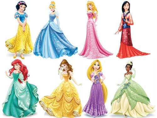Disney Princess karatasi la kupamba ukuta probably with a bouquet entitled Disney Princesses