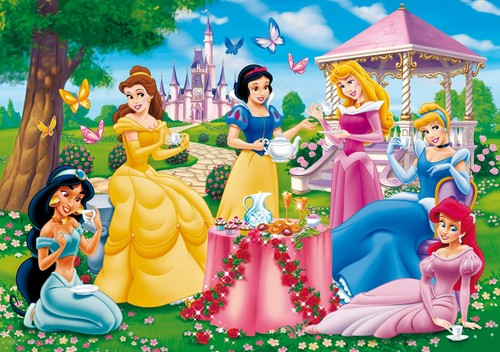 Disney Princess پیپر وال probably with a bouquet called Disney Princess