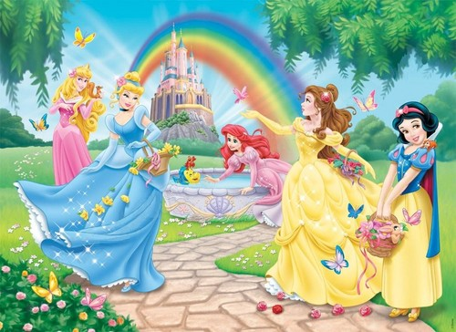 putri disney wallpaper possibly containing a bouquet entitled disney Princess