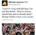 Don't F*** With MJ Fans!! - michael-jackson photo