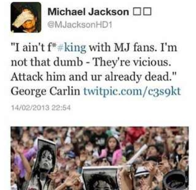 Don't F*** With MJ Fans!!