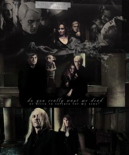 draco and hermione fan art
