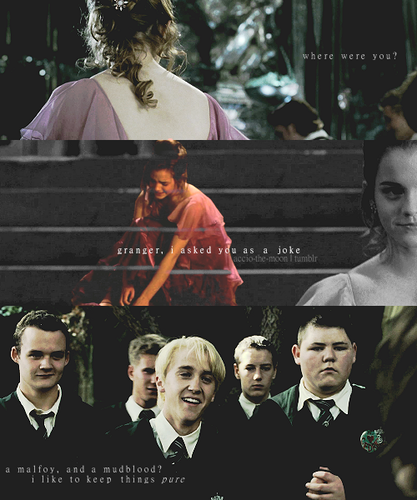 Dramione wallpaper containing a business suit entitled Draco x Hermione