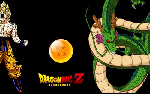 Dragonball Z गोकु & Shenron
