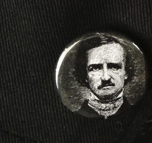Edgar Allan Poe Pin/Button