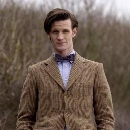The Eleventh Doctor karatasi la kupamba ukuta probably containing a business suit called Eleven