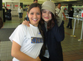 Emilie with a fan - emilie-de-ravin photo