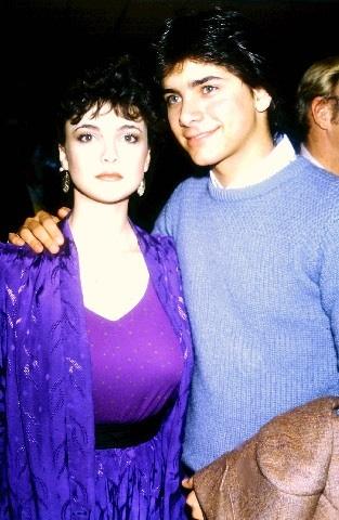 Emma Samms and John Stamos