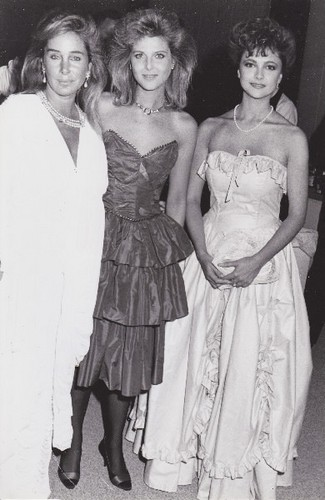 Emma with Catherine Oxenberger and Pamela Bellwood
