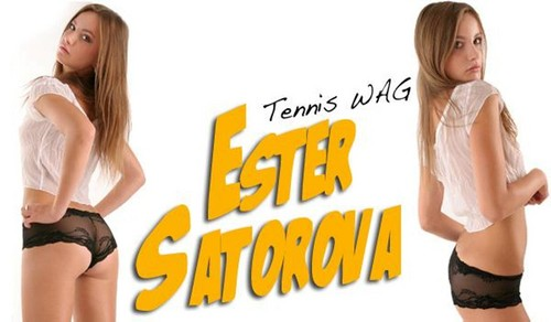 Ester Satorova tennis WAG