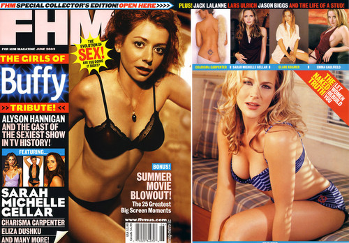 FHM Sexy Buffy Girls