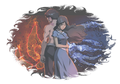 Fire and Water - zuko-and-katara photo