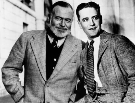 Fitzgerald and Hemingway
