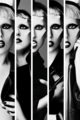 GAGA in b&w - lady-gaga fan art
