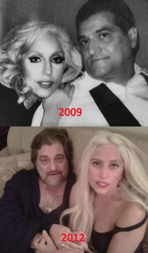 Gaga with her Dad
