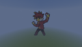 Gary Oak! Pokemon Yellow! - minecraft-pixel-art fan art