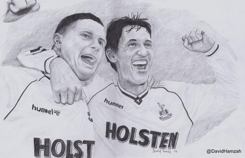 Soccer wallpaper entitled Gazza & Gary Lineker