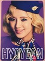 Girls' Generation's foto cards from their 2nd Japan Tour