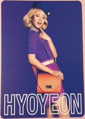 Girls' Generation's bức ảnh cards from their 2nd Nhật Bản Tour