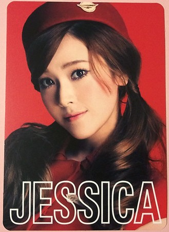 Girls' Generation's 照片 cards from their 2nd 日本 Tour