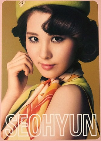 Girls' Generation's litrato cards from their 2nd Hapon Tour
