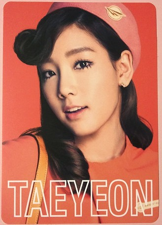 Girls' Generation's foto cards from their 2nd japón Tour