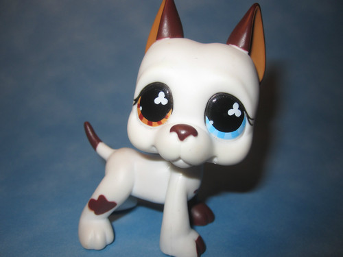 Littlest Pet Shop wallpaper called Great Dane #577 RARE!!