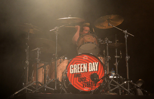 Green Day performs to a sold out crowd