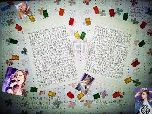 Happy 25th Birthday Taeyeon