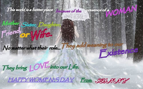 Happy womensday