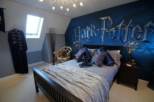 Harry potter room anj 39 s angels photo 33878440 fanpop for Love bedroom photo