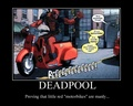 He proves it - deadpool photo