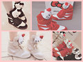 Hello Kitty shoes collage~