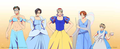 Hetalia Axis Powers - Incapacitalia x Disney Princesses cross-over