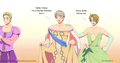 Hetalia x Disney Princesses cross-over pattern breaker - hetalia photo