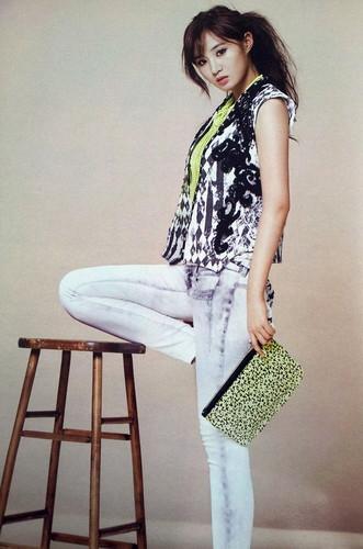 High Cut Korea Magazine SNSD Kwon Yuri 2013 Spring Collection