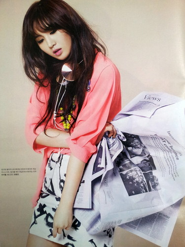 High Cut Korea Magazine SNSD Kwon Yuri Spring 2013 Collection