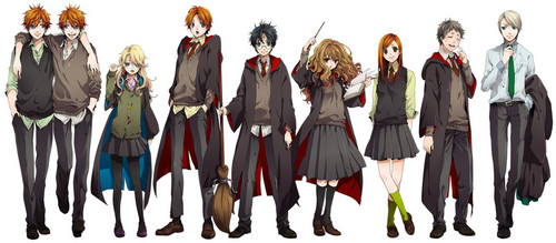Hp characters in アニメ
