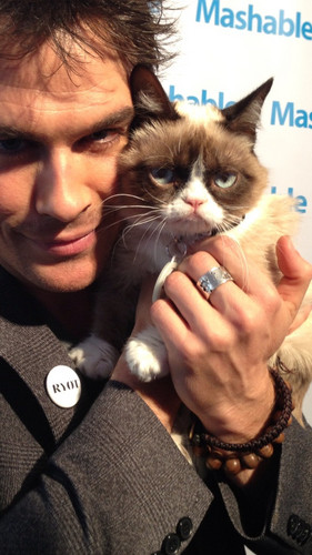 Ian and Grumpy Cat