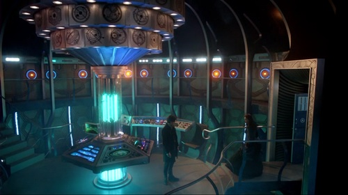 Inside the Tardis