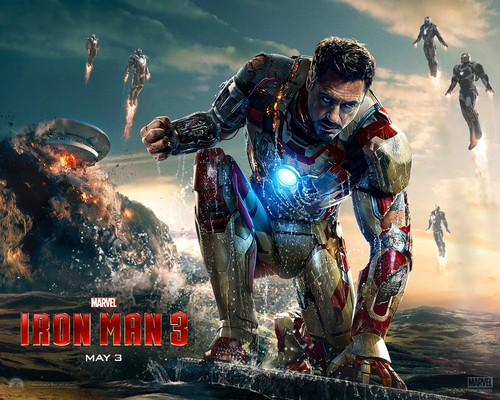 Iron Man wallpaper possibly with a breastplate and anime titled Iron Man 3 [2013]