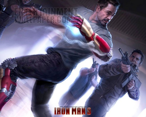 Iron Man wallpaper probably containing a lippizan, a hip boot, and a hot tub titled Iron Man 3 [2013]