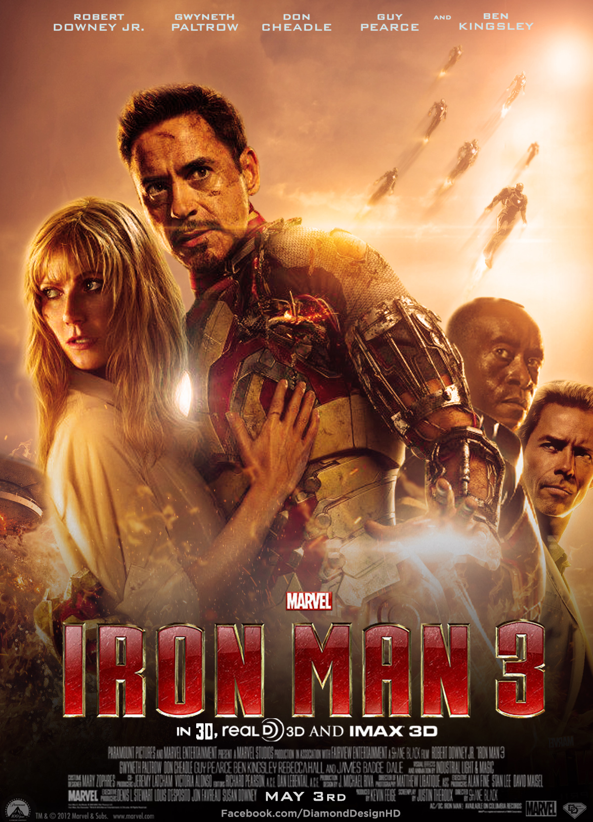 iron man the movie images iron man 3 (fan made) poster hd wallpaper