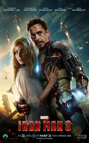 Iron Man 3 Poster (Hi-Res)