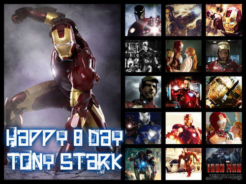 Iron Man wallpaper containing anime called Ironman birthday