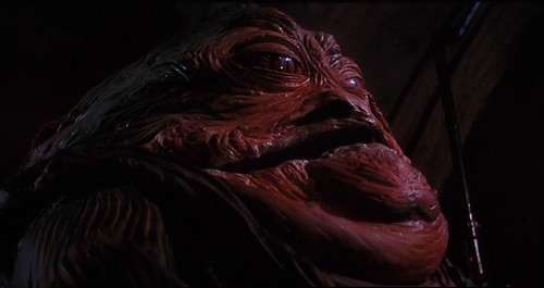 Star Wars wallpaper possibly with a red cabbage and an abattoir entitled Jabba the Hutt